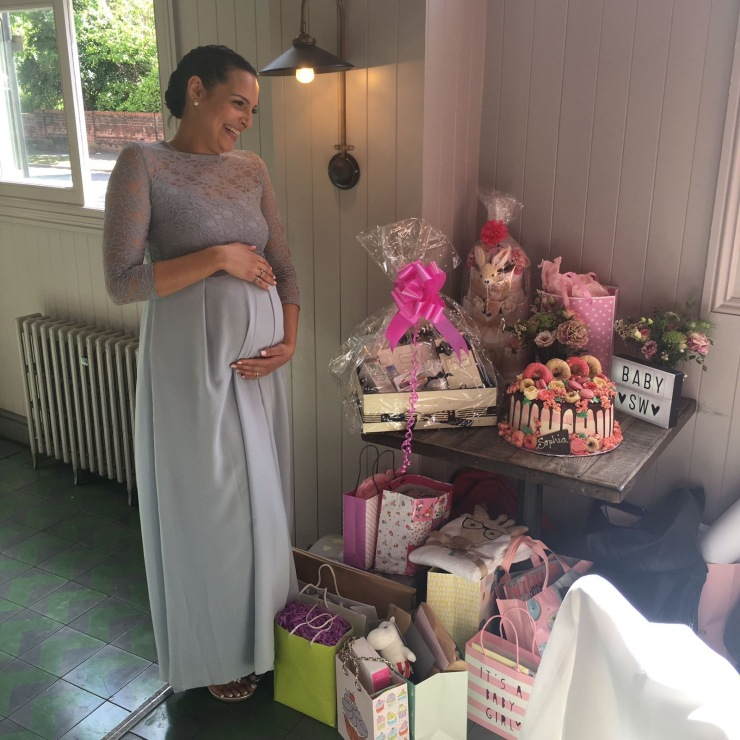 baby shower laughter 2